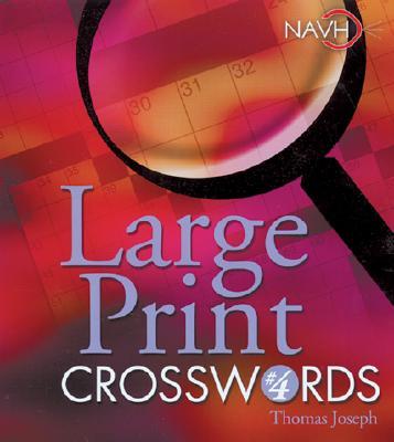 Large Print Crosswords 4 By Joseph, Thomas